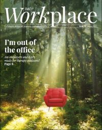 Cover of BACP Workplace January 2021