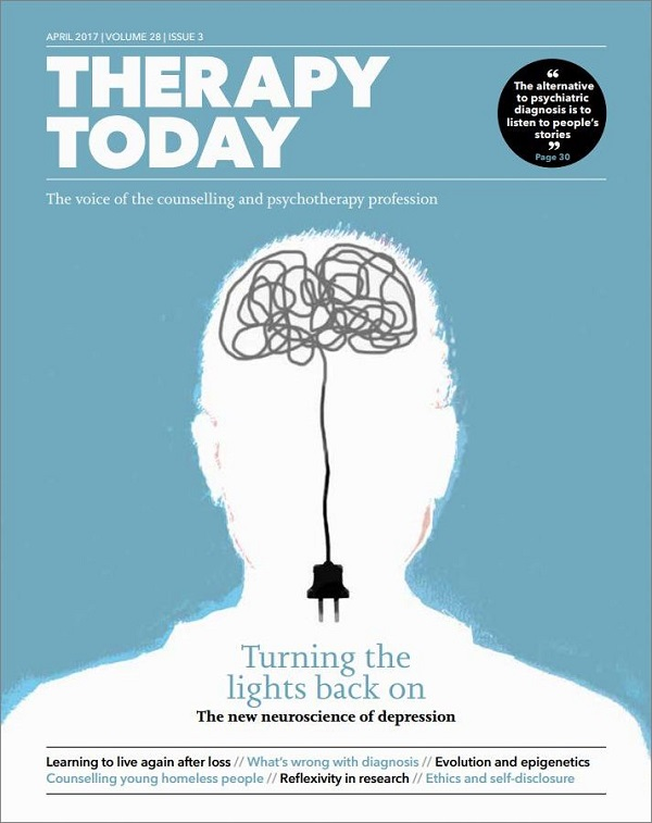 Cover of Therapy Today April 2017