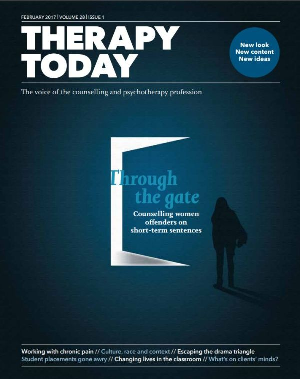 Cover of Therapy Today February 2017
