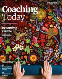 Cover of Coaching Today January 2021