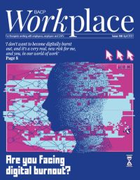Cover of BACP Workplace April 2021