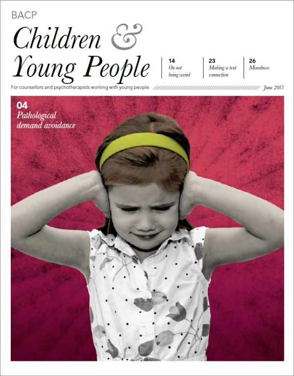 Cover of BACP Children and Young People June 2015