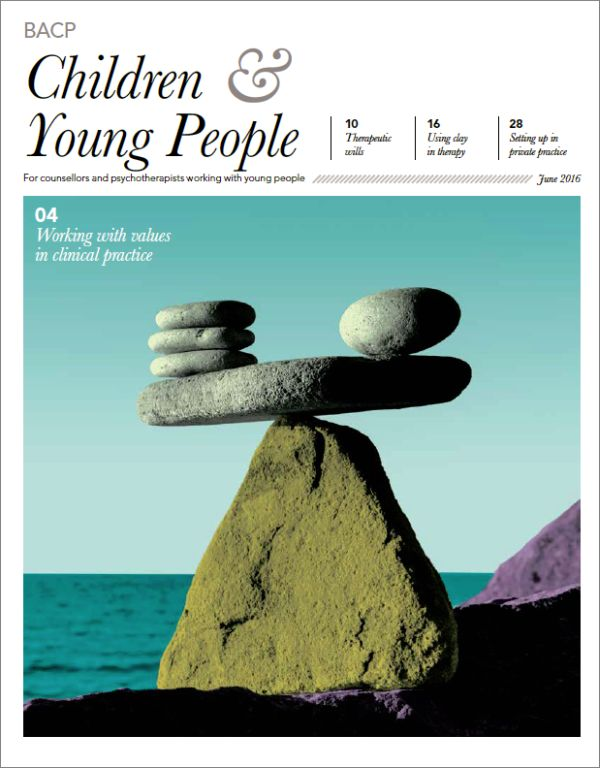 Cover of BACP Children and Young People June 2016