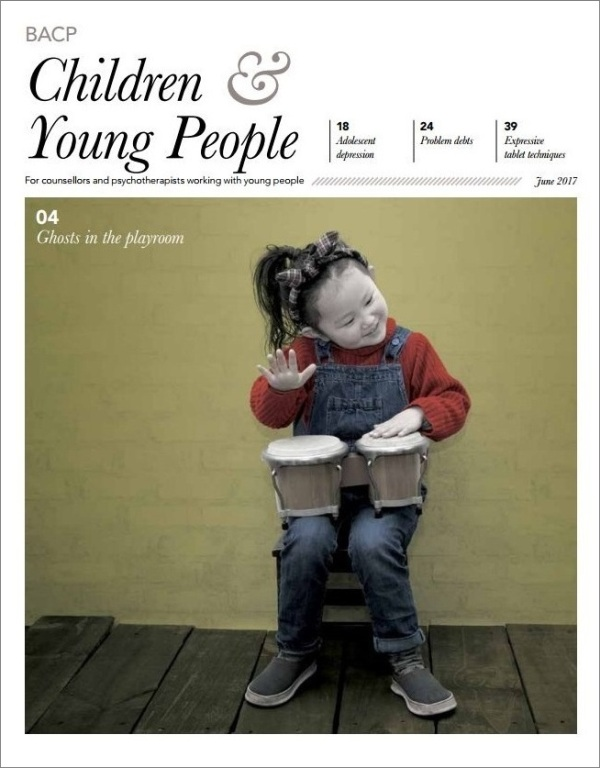 Cover of BACP Children and Young People, June 2017