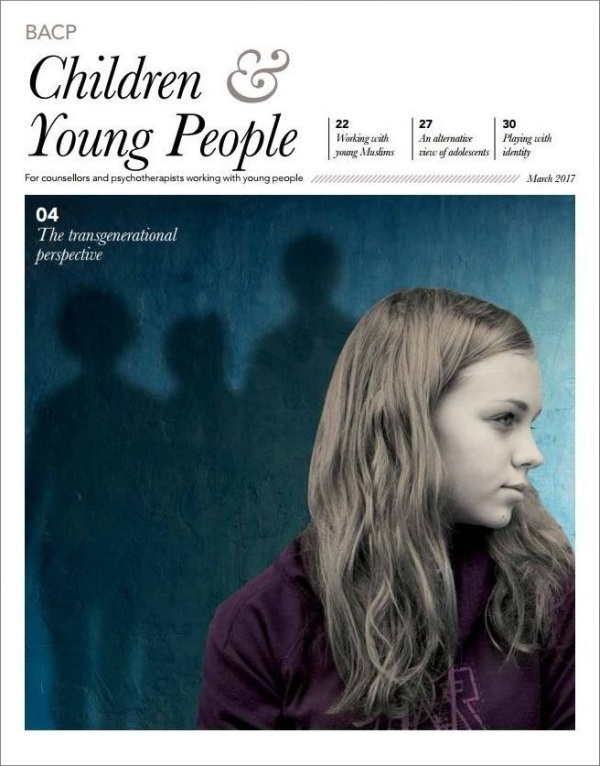 Cover of BACP Children and Young People journal March 2017
