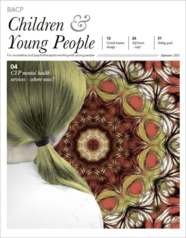 Cover of BACP Children and Young People September 2015