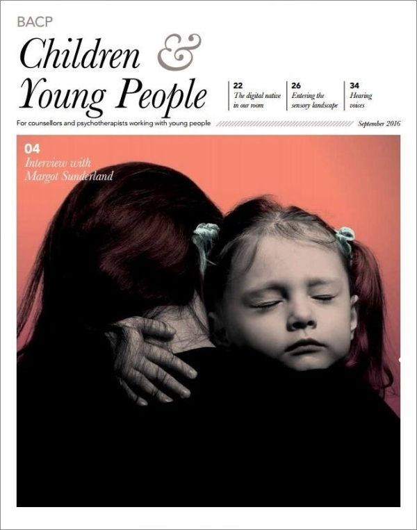 Cover of BACP Children and Young People journal September 2016