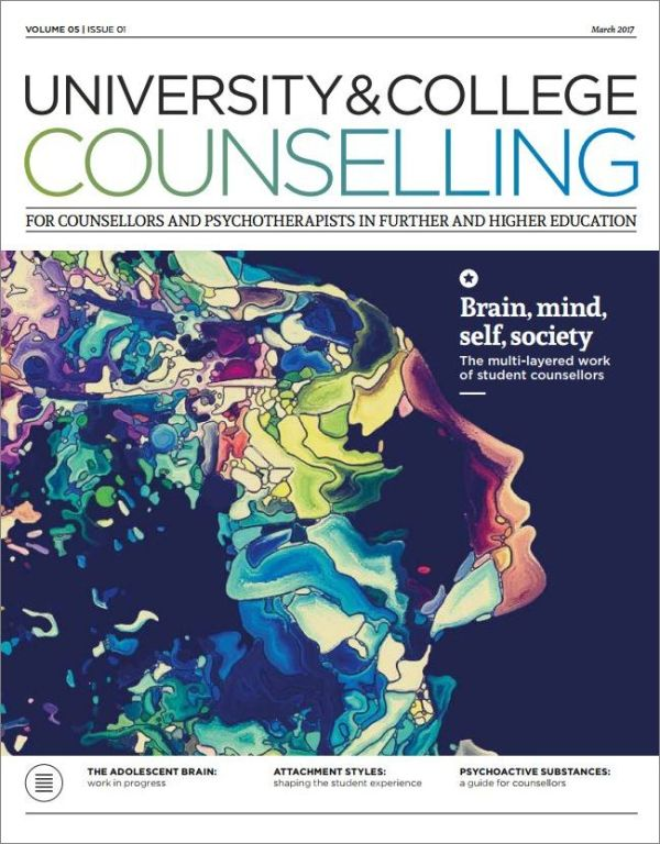 Cover of University and College Counselling March 2017