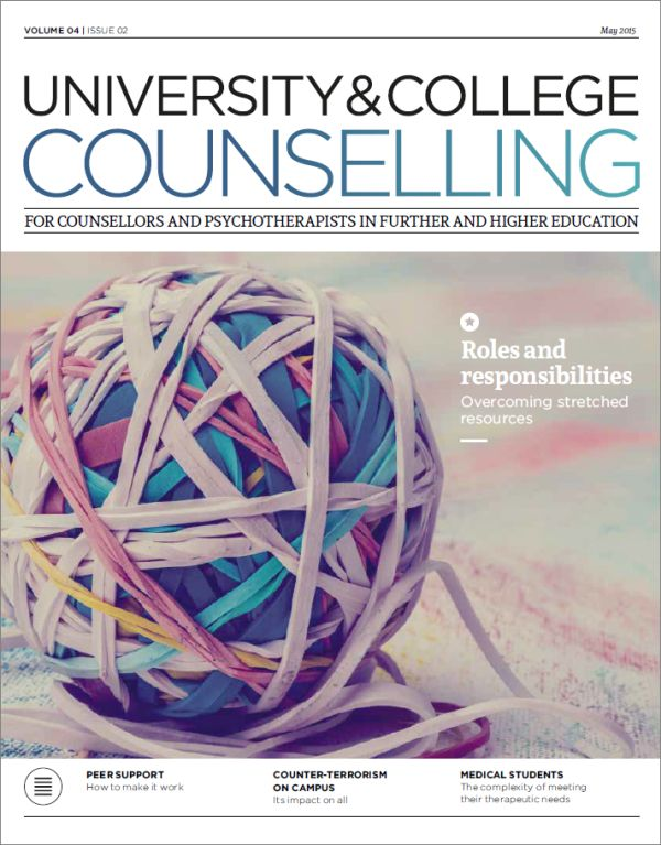 Cover of University and College Counselling May 2015