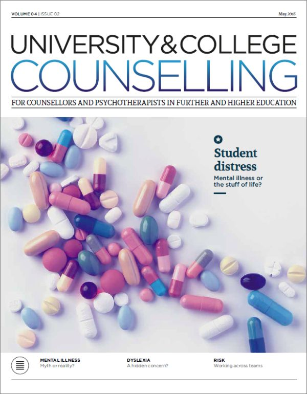 Cover of University and College Counselling May 2016