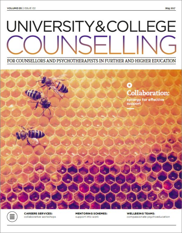 Cover of University and College Counselling May 2017