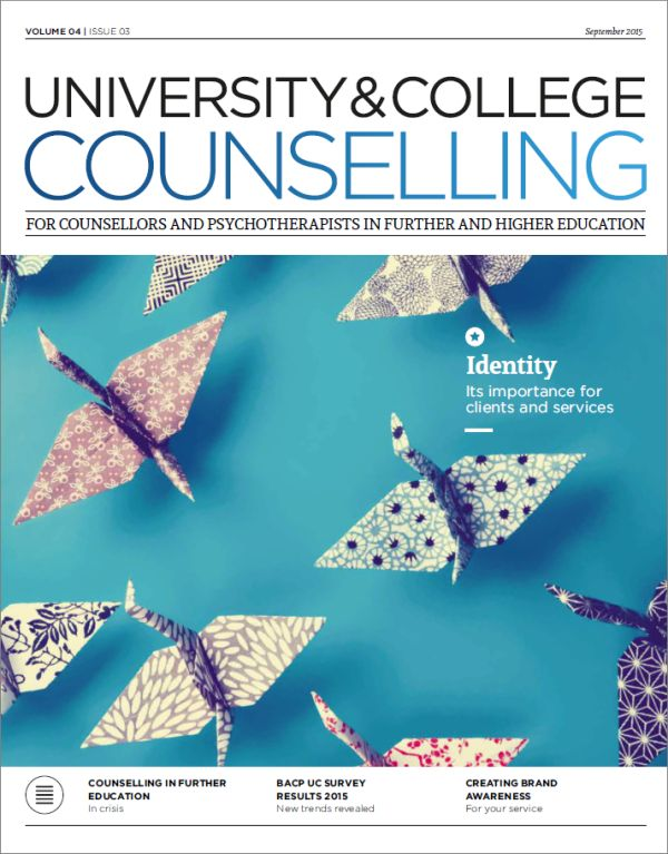 Cover of University and College Counselling September 2015