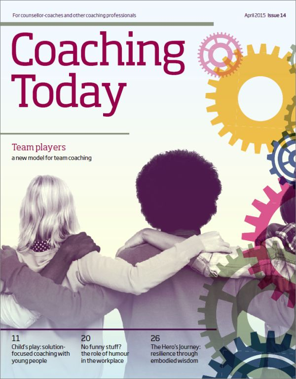 Cover of Coaching Today April 2015