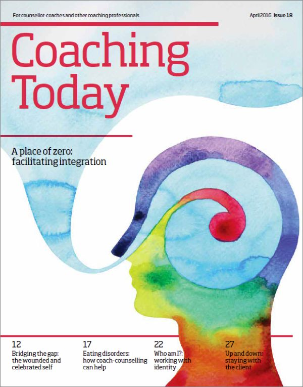 Cover of Coaching Today April 2016