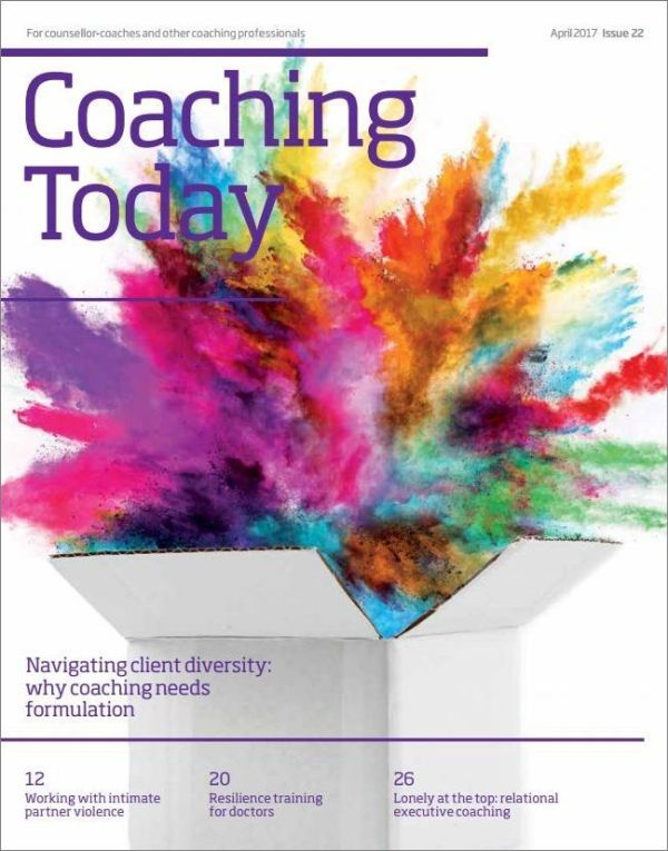 Cover of Coaching Today, April 2017