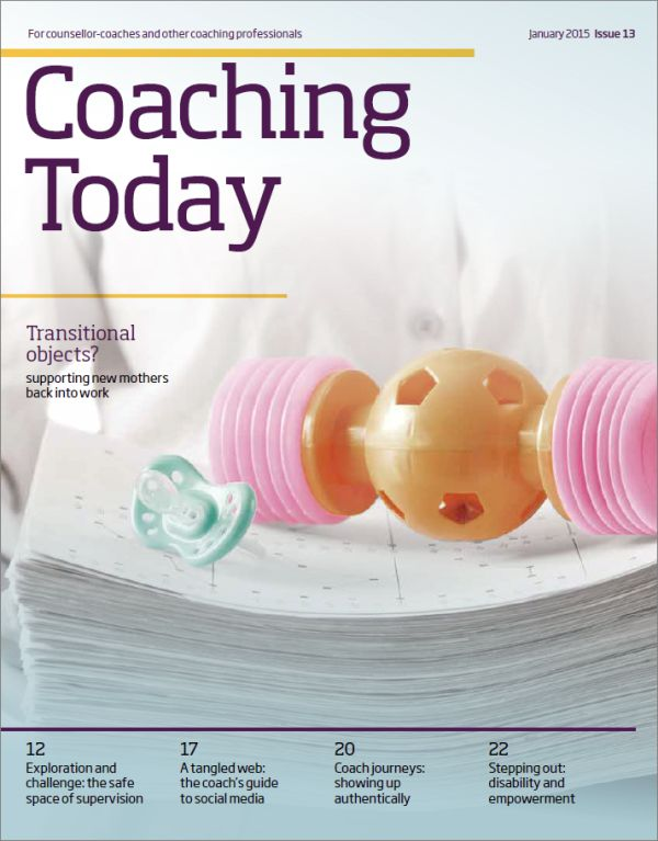 Cover of Coaching Today January 2015