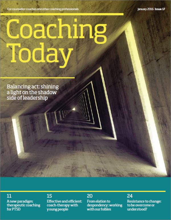 Cover of Coaching Today January 2016