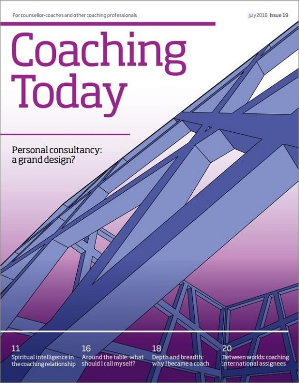 Cover of Coaching Today July 2016