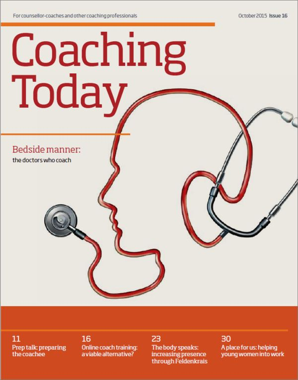 Cover of Coaching Today October 2015
