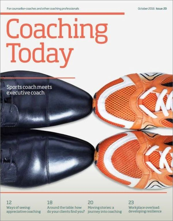 Cover of Coaching Today October 2016