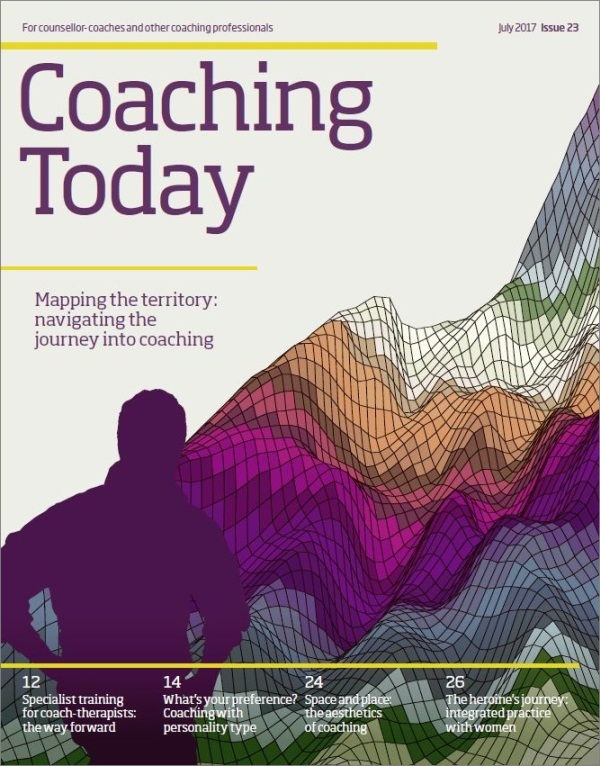 Cover of Coaching Today July 2017