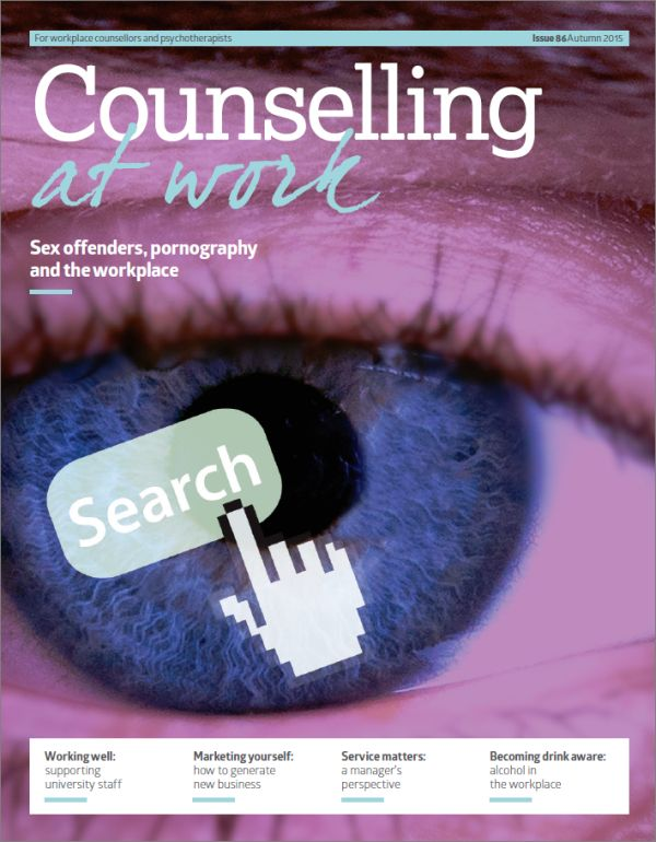 Cover of Counselling at Work Autumn 2015