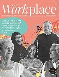 Cover of BACP Workplace, October 2021