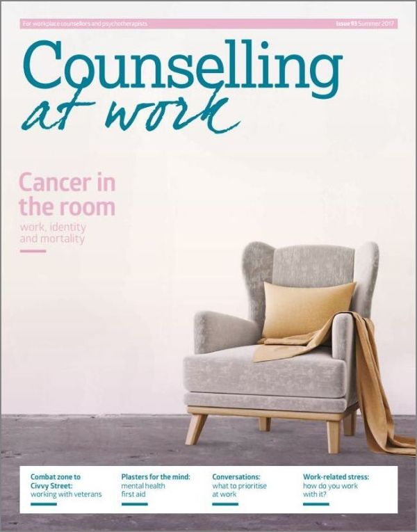 Cover of Counselling at Work Summer 2017