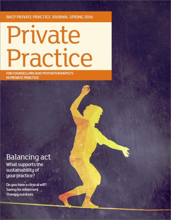 Cover of Private Practice Spring 2016