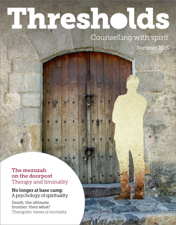 Cover of Thresholds Summer 2015