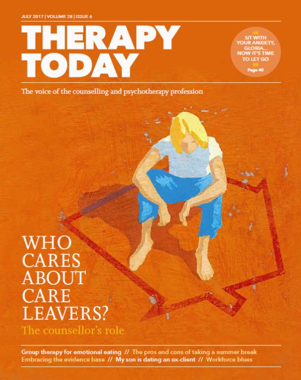 Cover of Therapy Today July 2017