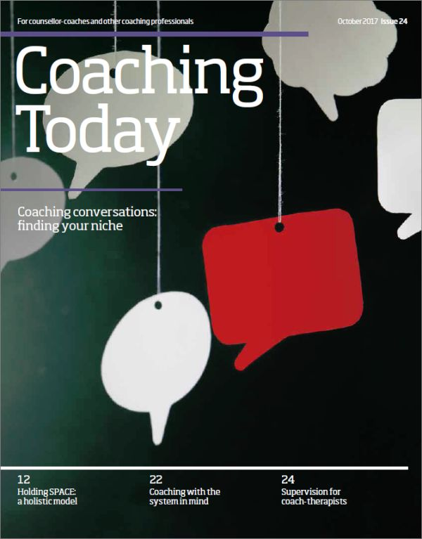 Cover of Coaching Today October 2017
