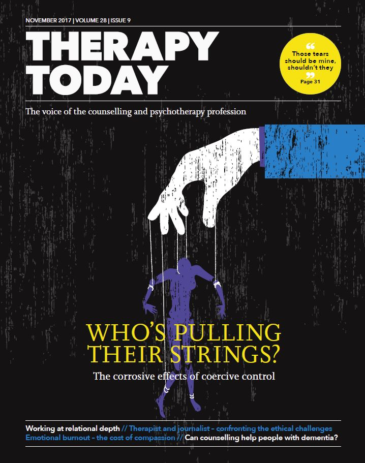 Cover of Therapy Today November 2017