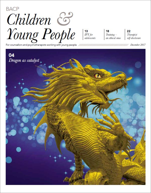 Cover of BACP Children and Young People December 2017
