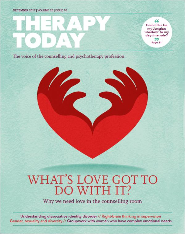 Cover of Therapy Today December 2017
