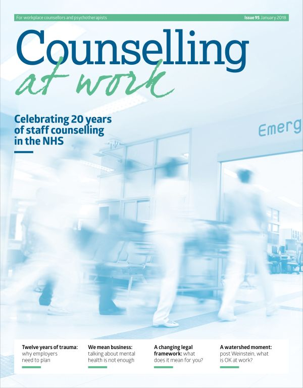 Counselling at Work, January 2018 issue