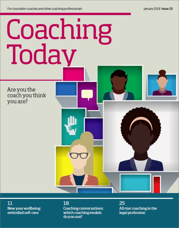 Cover of Coaching Today January 2018