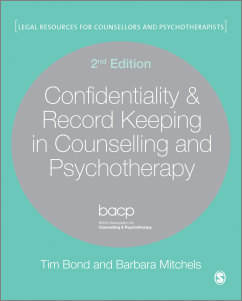 Cover of Confidentiality and record keeping