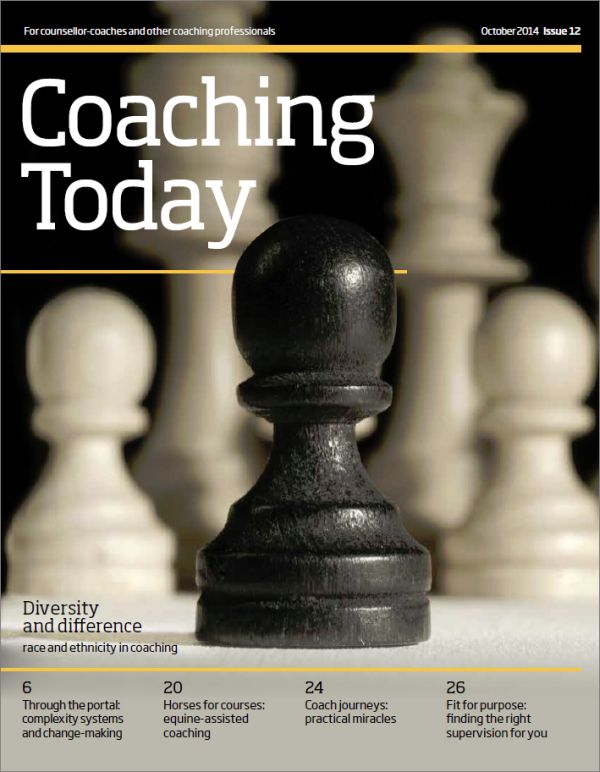 Cover of Coaching Today October 2014