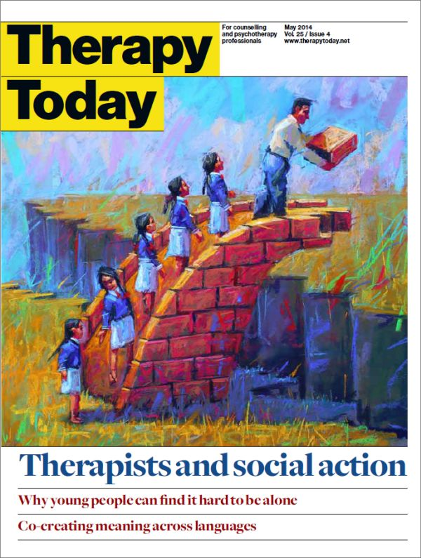 Cover of Therapy Today, May 2014