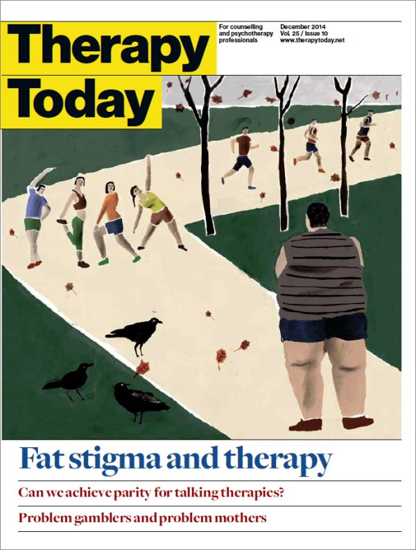 Cover of Therapy Today, December 2014
