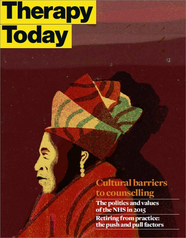 Cover of Therapy Today, November 2015