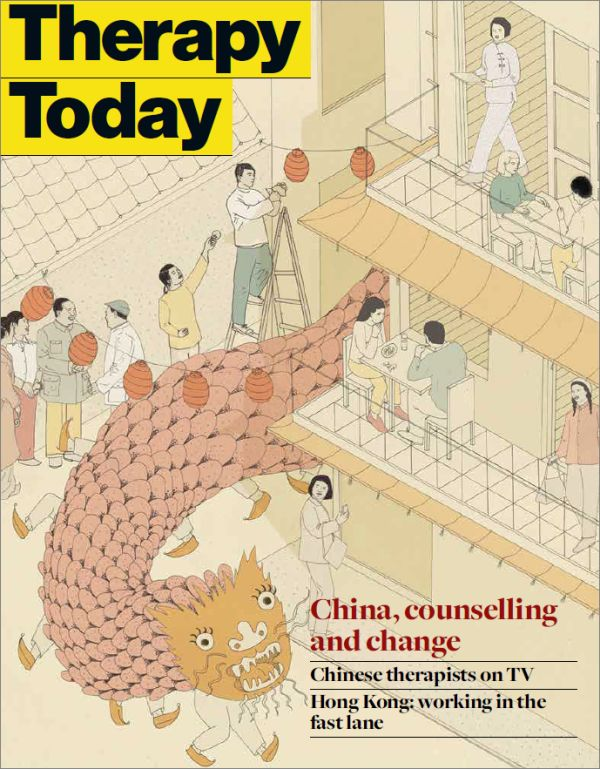 Cover of Therapy Today, September 2017