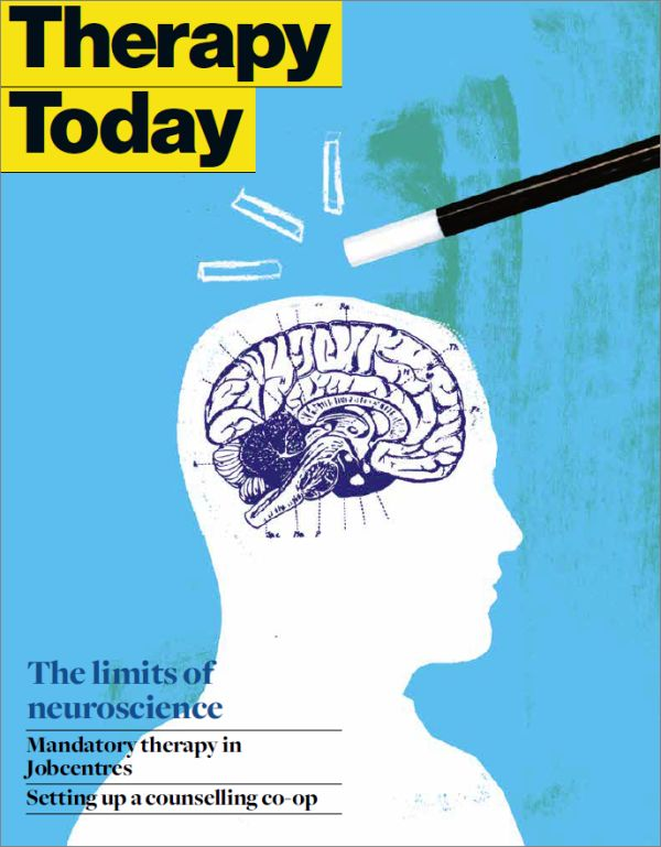 Cover of Therapy Today, July 2015