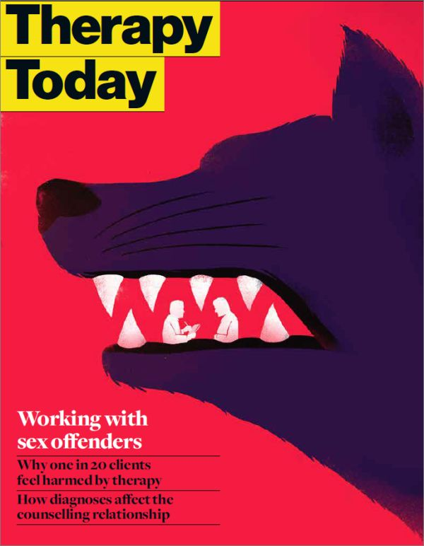 Cover of Therapy Today, June 2015