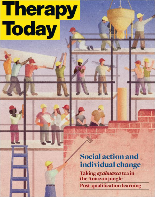 Cover of Therapy Today, February 2015