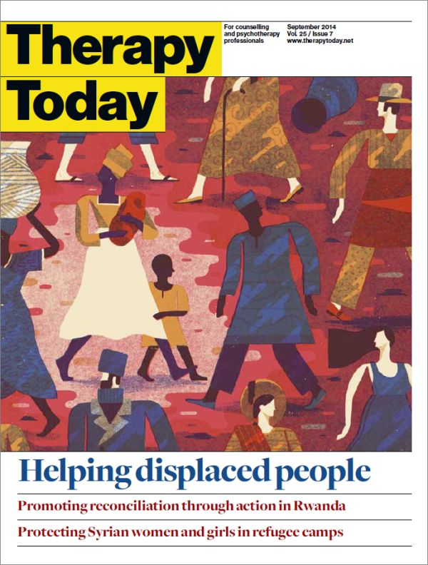 Cover of Therapy Today, September 2014