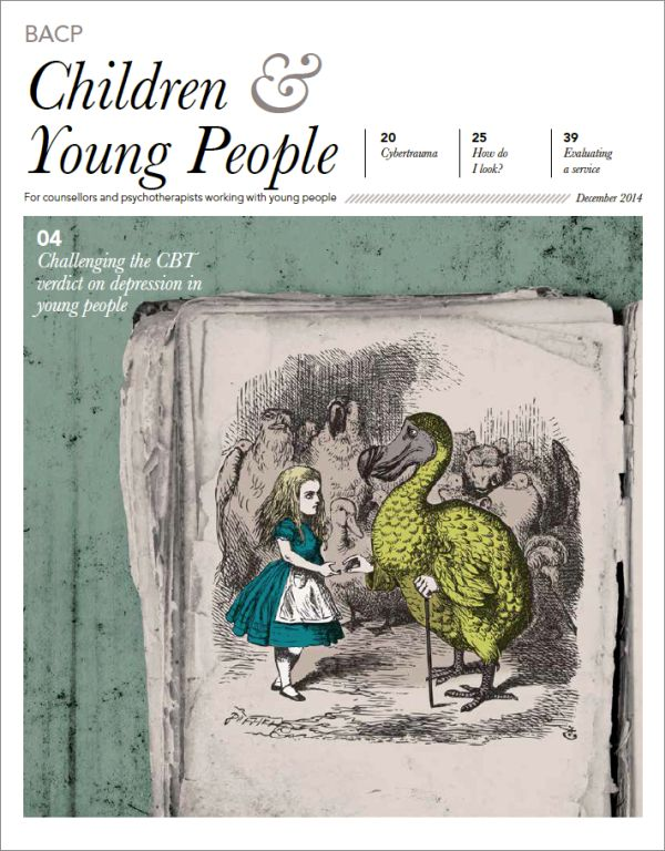 Cover of BACP Children and Young People, December 2014