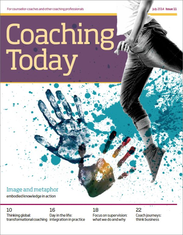 Cover of Coaching Today, July 2014 issue