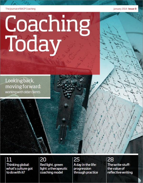 Cover of Coaching Today, January 2014 issue
